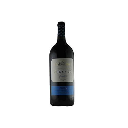 Rotwein Spanien Tempranillo Rioja Pueblo Viejo Magnumflasche halbtrocken (1 x 1,5L)