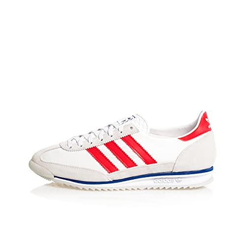 adidas SL 72, Zapatillas Deportivas Hombre, Grey One FTWR White Vivid Red, 43 1/3 EU