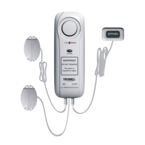 Techko Maid Inc S187D Safe Pool Alarm with Magnetic Sensor and Bypass