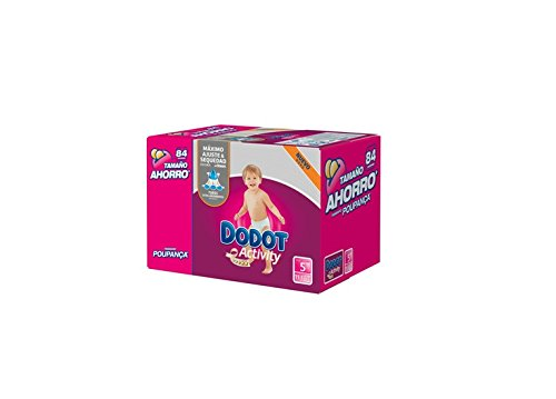 Pañales Dodot Activity T5 84 uds