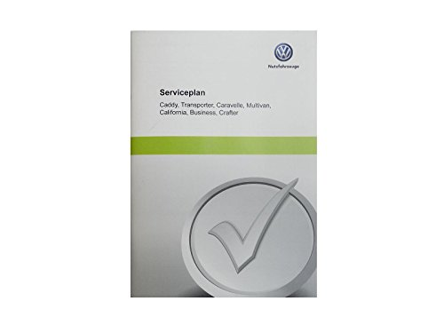 Volkswagen Original VW Serviceplan Serviceheft Scheckheft für Nutzfahrzeuge