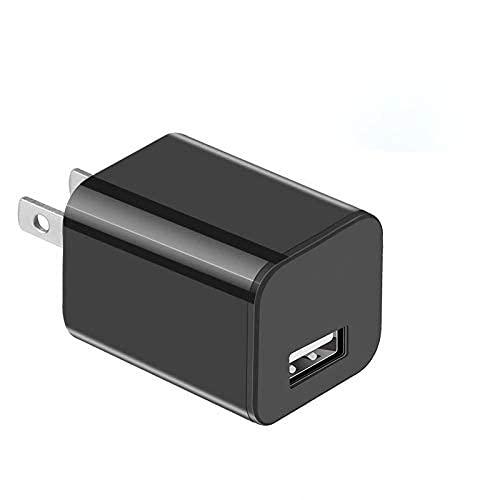 Cargador USB Cámara WiFi Cámara Visión Nocturna - Detección de Movimiento Cámara Niñera - Loop Grabación Cámara de Seguridad para