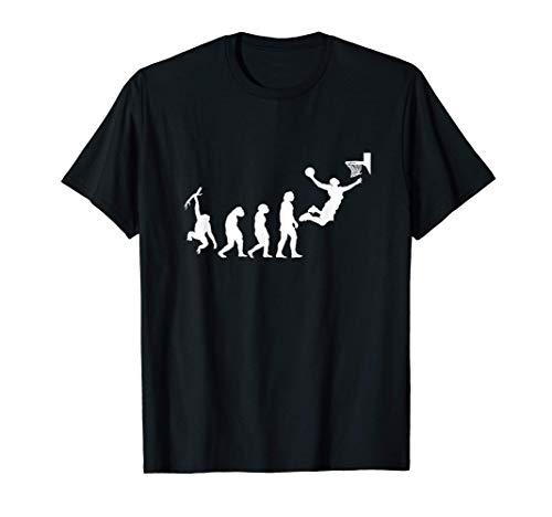 Evolución de baloncesto retro regalo jugadores baloncesto Camiseta