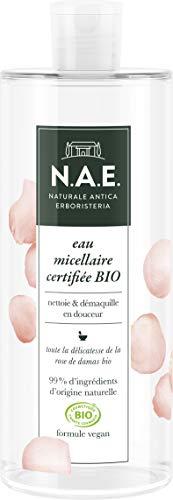 N.A.E. - Eau Micellaire Certifiée Bio – Bouteille de 500 ml