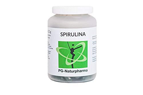 Spirulina BIO vegan, 120 capsule, 420 mg Spirulina polvere biologico per capsula, senza stearato di magnesio, certificato BIO secondo DE-ÖKO-005, alto contenuto proteico