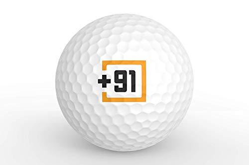 91 Range Golf Balls (Pack of 25)