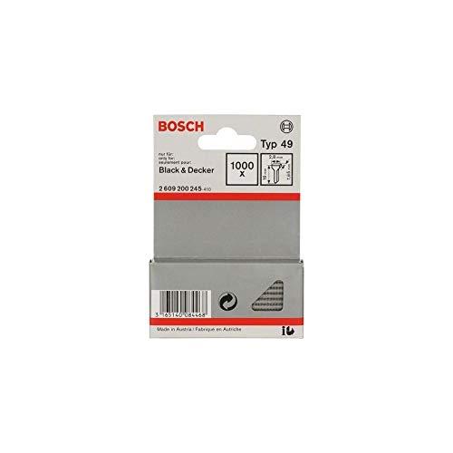 Bosch 2 609 200 245 - Pack de 1000 clavijas de grapadora...