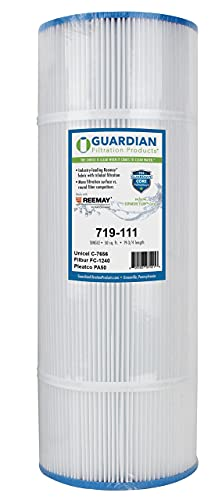 Guardian Filtration - Pool & Spa Filter Replacement for Pleatco PA50, Unicel C-7656, Filbur FC-1240 | Compatible for Hayward CX500RE, Star Clear C500 | Premium Pool Filter Cartridge | Model 719-111