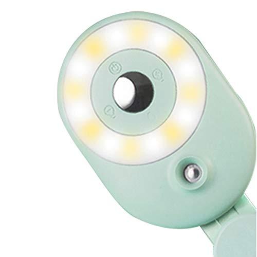 Fülllicht tragbares Live-Meeting-Fülllicht Tragbare Beauty-Feuchtigkeitslampe Nachtbeleuchtung + Weitwinkelobjektiv