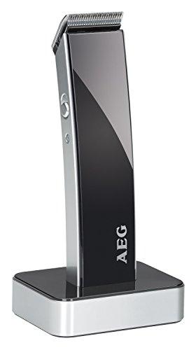AEG HSM/R 5638 - Cortapelos para cabello y barba, batería recargable,