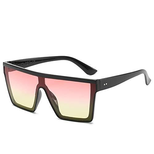 Gafas de Sol Gafas De Sol De Gran Tamaño para Exteriores, Gafas De Sol De Tendencia De Lujo para Mujer, Gafas De Moda para Hombres, Gafas De Sol Vintage, 4