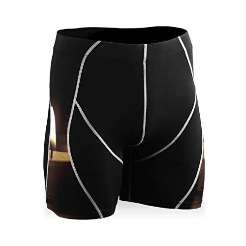 FANTAZIO romántica noche velas ejercicio pantalones corriendo pantalones ciclismo medias