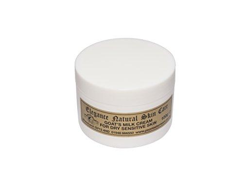 Ziegenmilch Feuchtigkeitscreme 100 g für Psoriasis Ekzem Trockene Haut Dermatitis Rosacea...