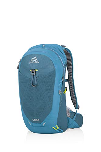 Gregory Mountain Products Maya 16 Liter Women's Daypack, Meridian Teal, One Size