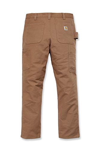 Carhartt Straight Fit Stretch Duck Hose Hellbraun 42 L32
