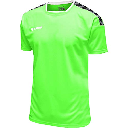 Hummel Kinder Trikot Authentic Poly Jersey 204920 Green Gecko 164