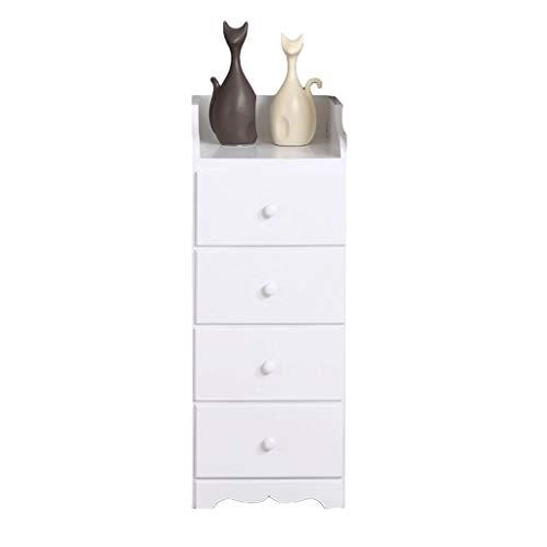 Ärmförvaring sidoskåp massivt trä kök mellanrum skåp flera lager smalt skåp badrum låda skåp b