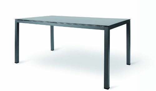 MWH - Garden & Home 31500000009 Tisch Loft Kettaluxplatte 160 x 95 cm eisengrau