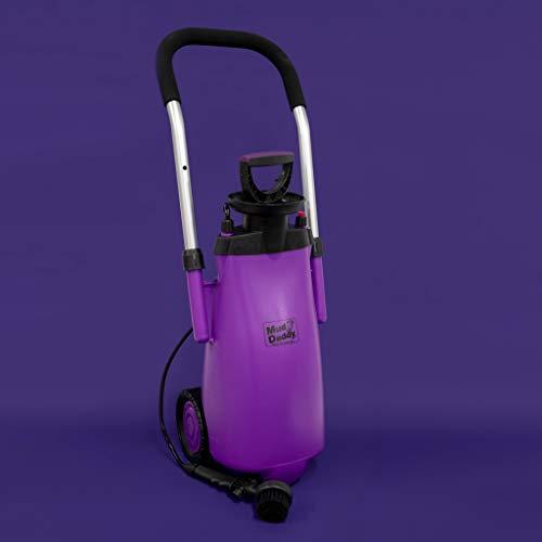 Mud Daddy Portable Washing Device, 12 Litre, Purple