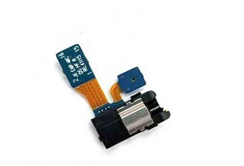 Flex puerto entrada jack audio auriculares Earphone Jack Cable+Micrófono para modo manos libres compatible con Samsung Galaxy A6 2018 A600 SM-A600F SM-A600FN/DS