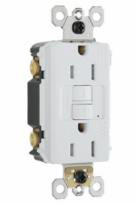 Pass Seymour 1597TRWRWCCD4 GFCI Receptacle Max 42% OFF Quant Product - White 15A