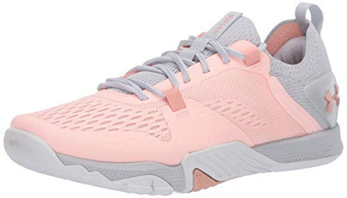 Under Armour womens Tribase Reign 2 Cross Trainer, Peach Frost (602 Calla, 8.5 US