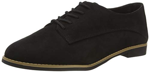New Look Damen Kandita - Ic SDT Lace Up: 1: s206 Slipper, Schwarz (Black 1)