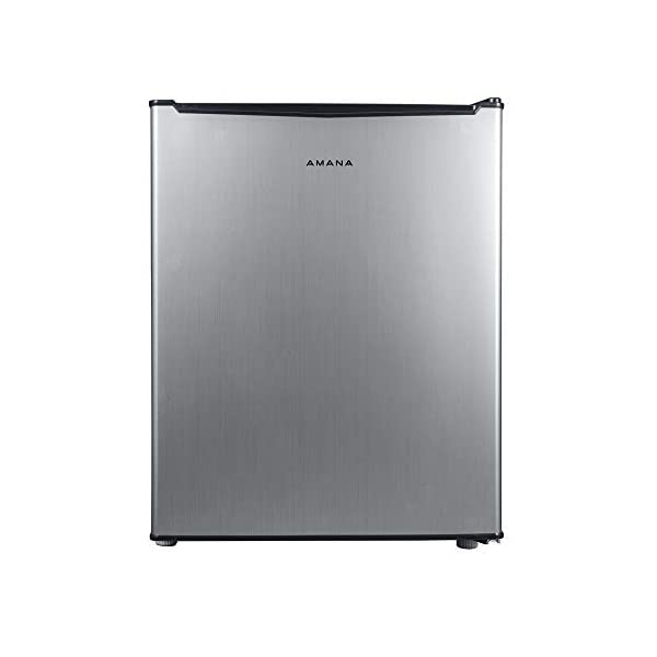 AMANA AMAR27S1E 2.7 cu ft Chiller Refrigerator, Stainless Steel