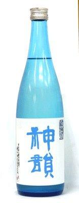 増田酒造『神韻 純米酒 無濾過生原酒 ブルーラベル』