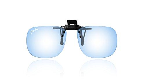 Shadez Clip on filtre lumière bleue pour lunettes 7-16 ans