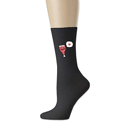 HNJZ-GS Calcetines Deportivos de algodón para Hombres, de Dibujos Animados, para Hombres, para Profesiones Love Classics.