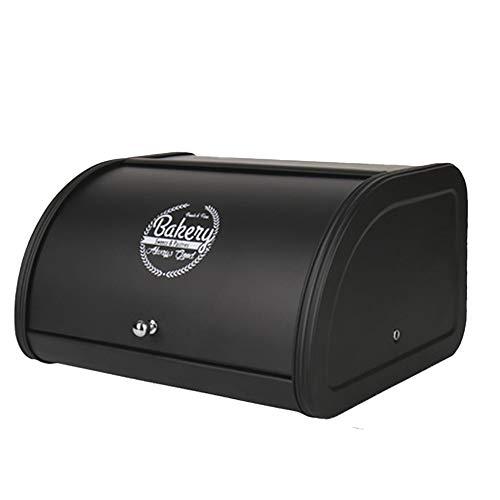 Caja de almacenamiento Pan con a prueba de polvo de cubierta de ventilación Pan hornada de contenedores para el pan Pequeño magdalenas francés caja de almacenamiento de la comida  6.5