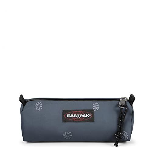 Eastpak Benchmark Single Astuccio, 21 cm, Azzurro (Line Afternoon)