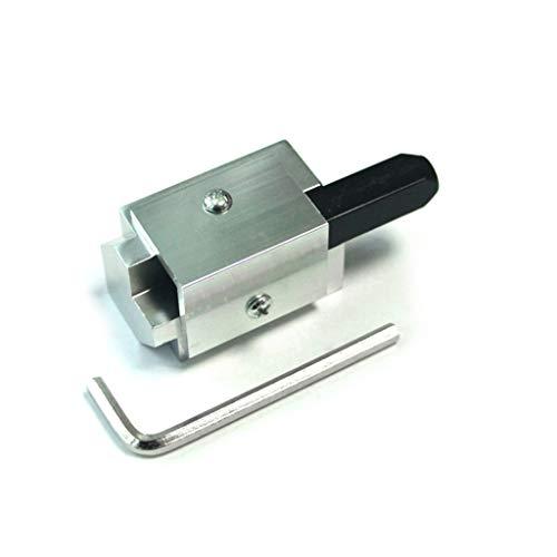 XIAN Aluminio Allloy Esquina Cincel Cuadrado Bisagra Recesos Recesos Mortising Ángulo Recto Cuchillo Tallado de Madera Cincel Para Herramientas de carpintería