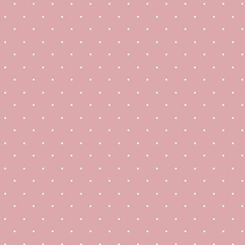 Schickliesel Jersey Stoff Meterware Pünktchen (rosa)