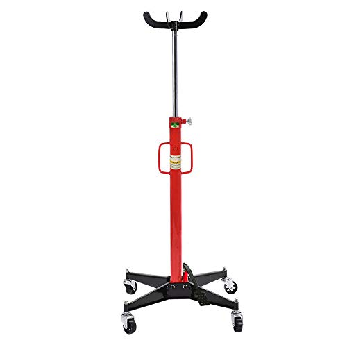 Parts-Diyer Auto Car Transmission Jack Foot Pump Loaded High Lift Stand Tool (1100 LBS)
