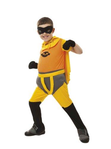 Fanboy Chum Chum - Disfraz Fanboy, tallas 3-5/5-7, color naranja (Simba 5551180)