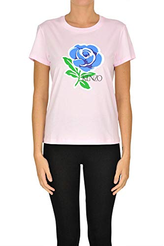 Kenzo Luxury Fashion dames MCGLTPS0000A7016E roze T-shirt | jaargetijd-outlet