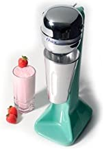 Oster Chocomilera Tall Commercial Heavy Duty Restaurant, Bar Soda Fountain mixer for Milk Shake or other Shakes with 2 speeds and Stainless Steel Spindle. 110 watts of power with weighed base. Auto shutoff with hands free operation.