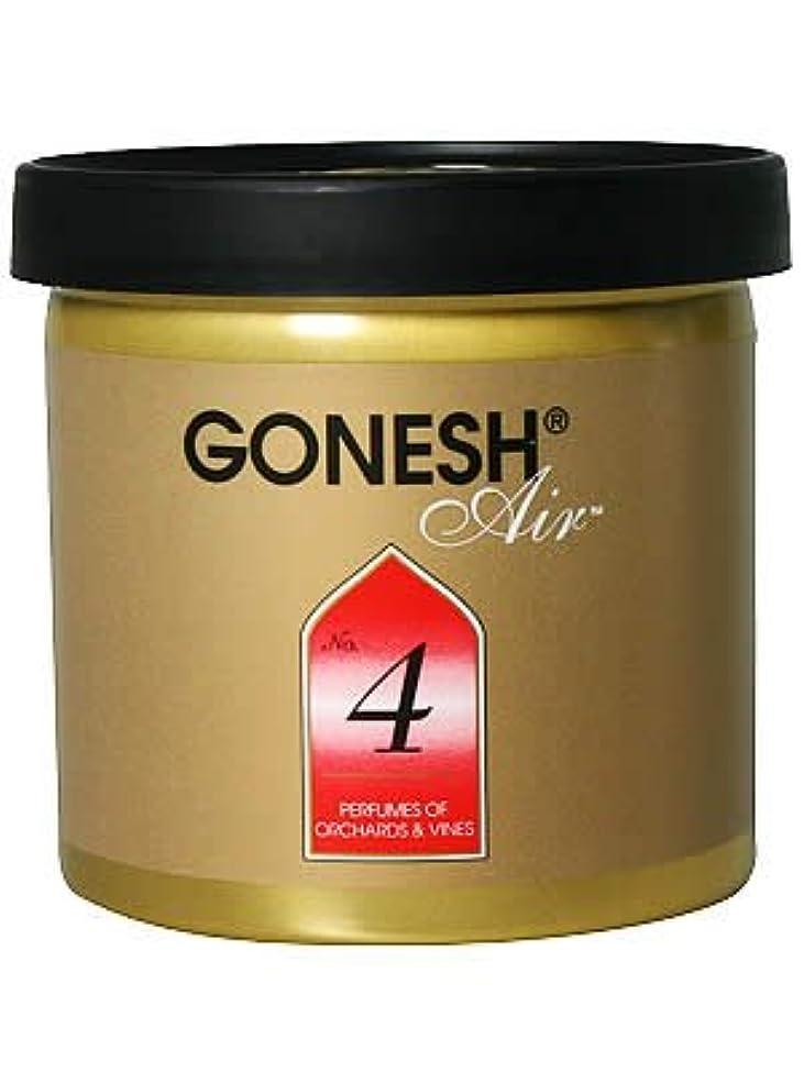 道徳のソート予防接種するGONESH ゲルエアフレッシュナー No.4(オーチャード&ヴァイン)