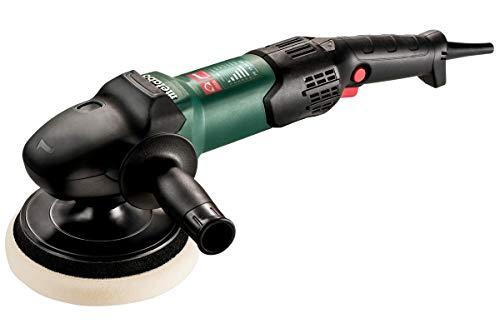 """Metabo- 7"""" Variable Speed Polisher - 300-1, 900 Rpm - W/Lock-On, RAT Tail (615200420 15-20 Rt), Inox - Stainless Steel Finishing"""