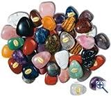 Perforado tambor 1 kilogramos ladrillo ca 70 unidades ca 2.5 - 3 cm piedras preciosas genuinas...