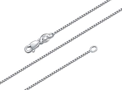 cadenas de plata delgadas fabricante BORUO