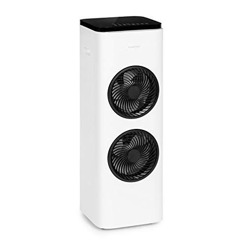 Klarstein Windsurfer - 3-in-1: Ventilator, Luftkühler, Luftbefeuchter, 105 Watt, Luftdurchsatz: 534 m³/h, 3 Windgeschwindigkeiten, 3 Betriebsmodi: Normal-, Natur- und Schlafmodus, leise, weiß