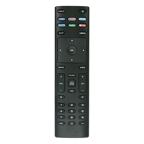 VIZIO XRT136 Remote Control for 2019 Smart HDTVs V405-G9 V435-G0 V436-G1 V505-G9 (Renewed)
