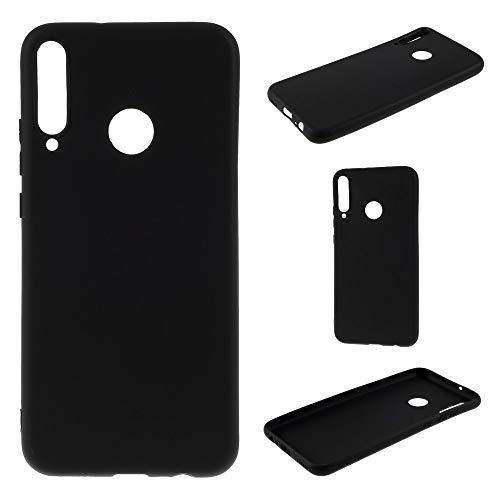 CoverKingz Handyhülle für Huawei P40 Lite E - Silikon Handy Hülle P40 Lite E - Soft Hülle in Matt Schwarz