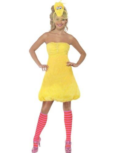 Smiffy's - Disfraz de la gallina Caponata (Barrio Ssamo) para mujer, talla 36-38 (38677XS)