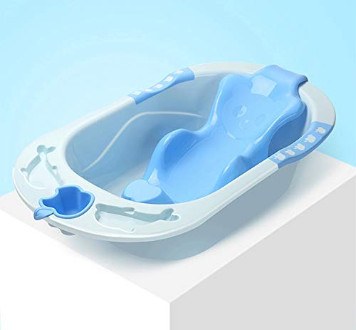 FWQPRA Bathroom Baby Supplies Plastic Baby Tub and Bath Sling (87cm x 50cm x 21cm) ABS Plastic Material-Baby Shower Anti Skid- Durable Quality Color may vary (Multi)