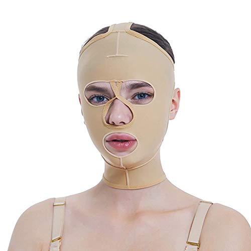 FS Liposuktion Geformte Maske, Dünne Gesicht Perücke V Gesicht Strahl Gesicht Elastische Hülse Multi-Größe Optional (größe : S)