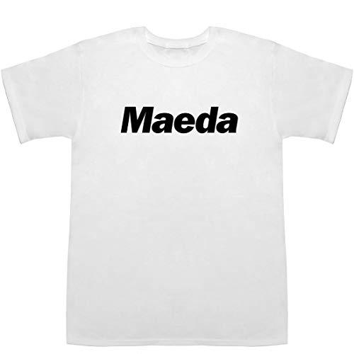 前田 まえだ Maeda Tシャツ ホワイト XS【裕二】【敦子】